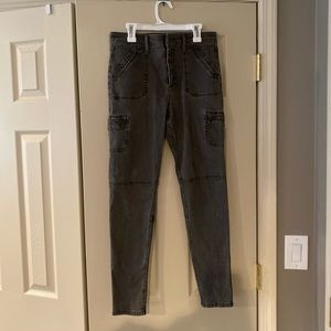 Abercrombie & Fitch cargo style jeggings